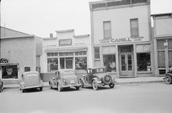 Cahill Furniture and Funeral Parlor in the 1940's photo